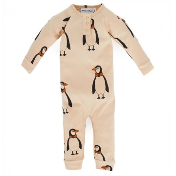 organic Penguin Romper Ethical children's choices