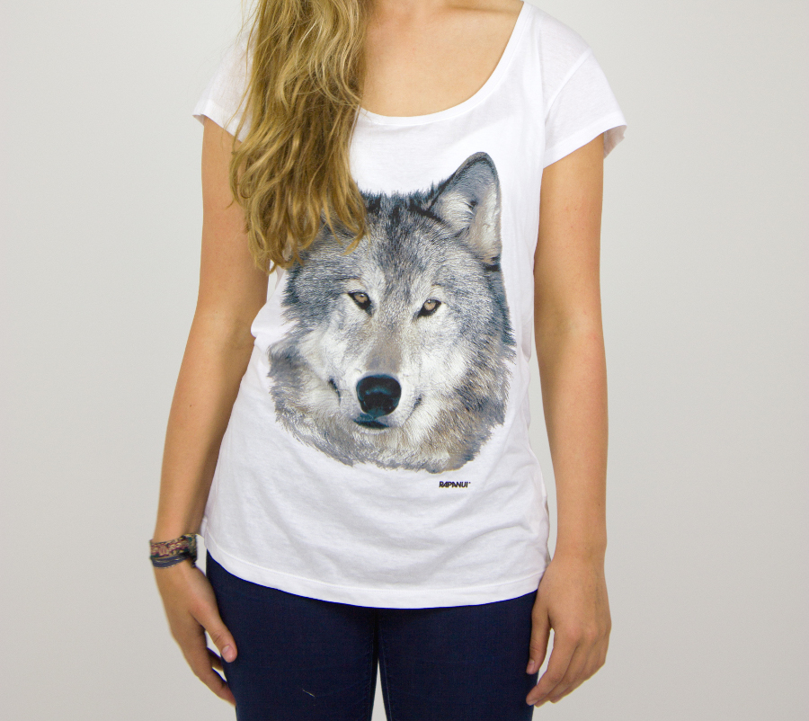 wolf t shirt Fashion and accessory brands with feelings