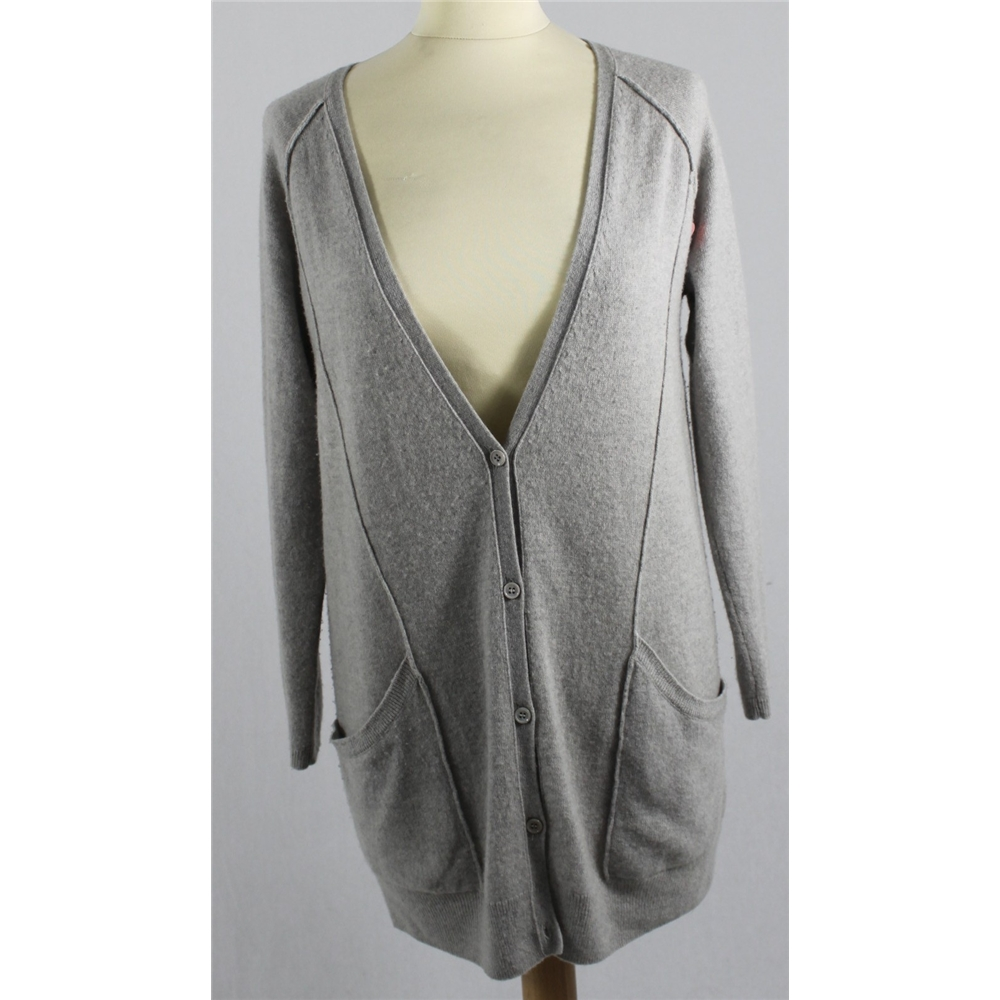 grey cashmere Cardigans and Cosiness!