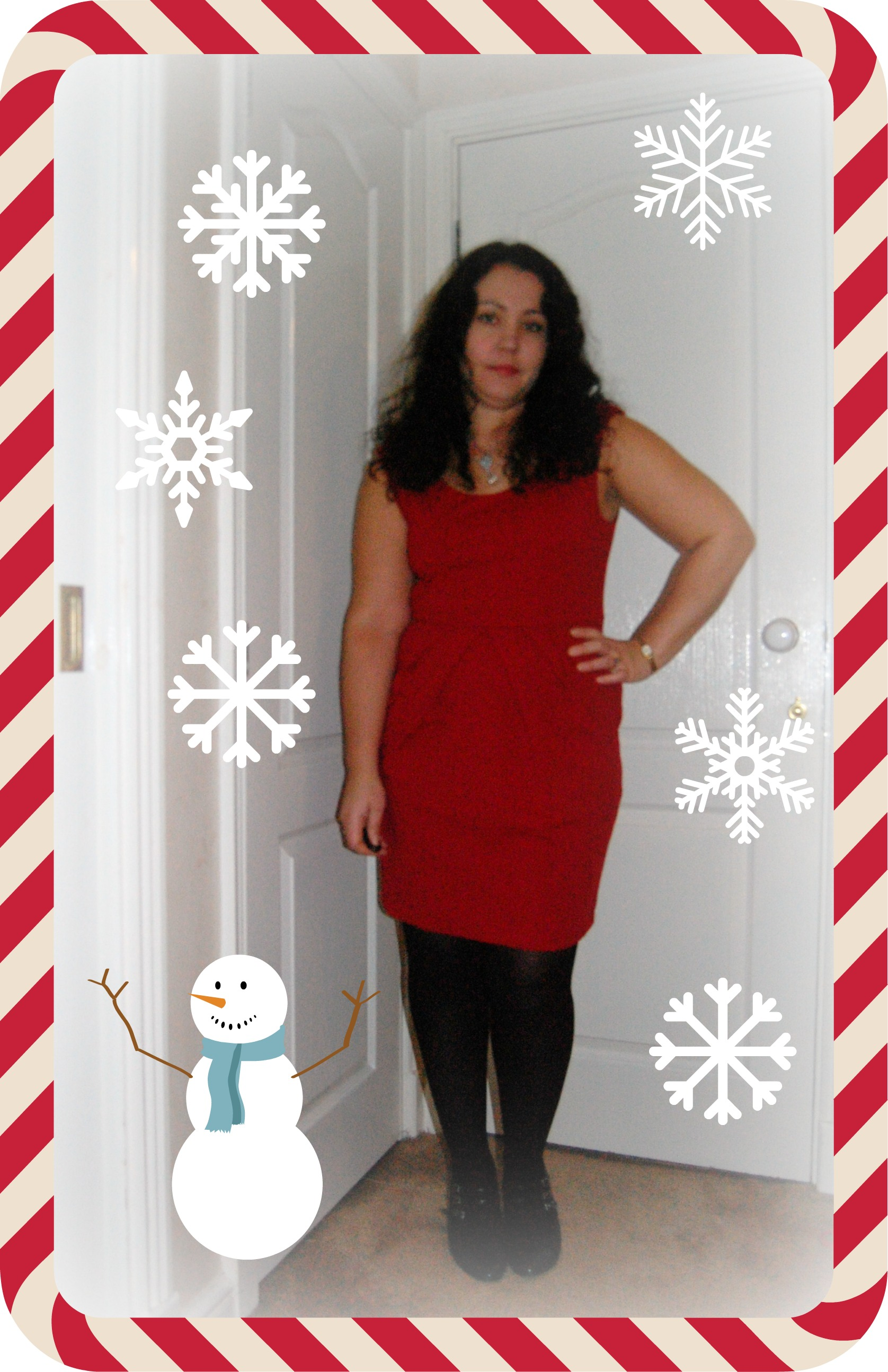 Oxfam Fashion Christmas Party Dress