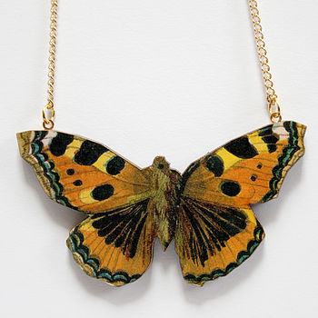 Sienna butterfly necklace Eco Living   Christmas Shopping Stocking Fillers