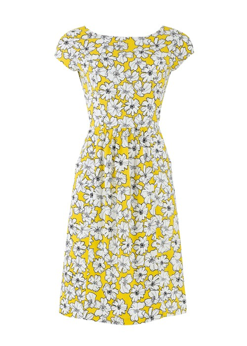 alice anemone print pocket dress in yellow 82499dfdb70e Ethical Fashion For SS14 and Some Discounts!