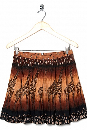 giraffe skirt Ethical Fashion For SS14 and Some Discounts!