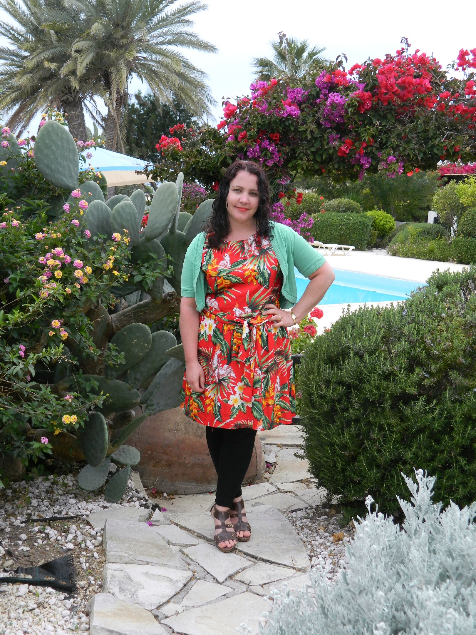 023c Ethical Fashion and Butterflies in Paphos