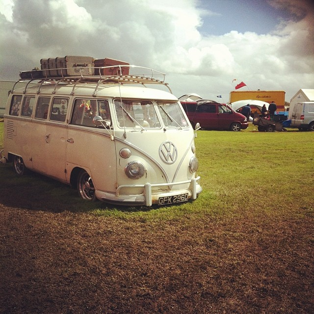vw2 Camping, Van West and a Mud Fest!
