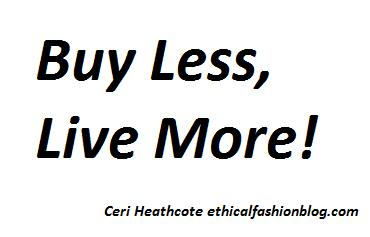 Buy less, live more