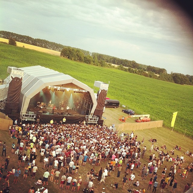 Truck Festival (view from Ferris Wheel)