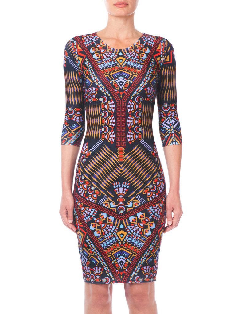 Cadogan bodycon dress Ethical Fashion Update   September