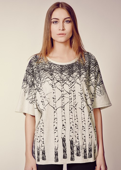 People Tree Silver Trees Tunic