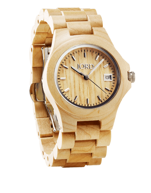 ely 10 front angled noshadow Win a JORD Wood Watch