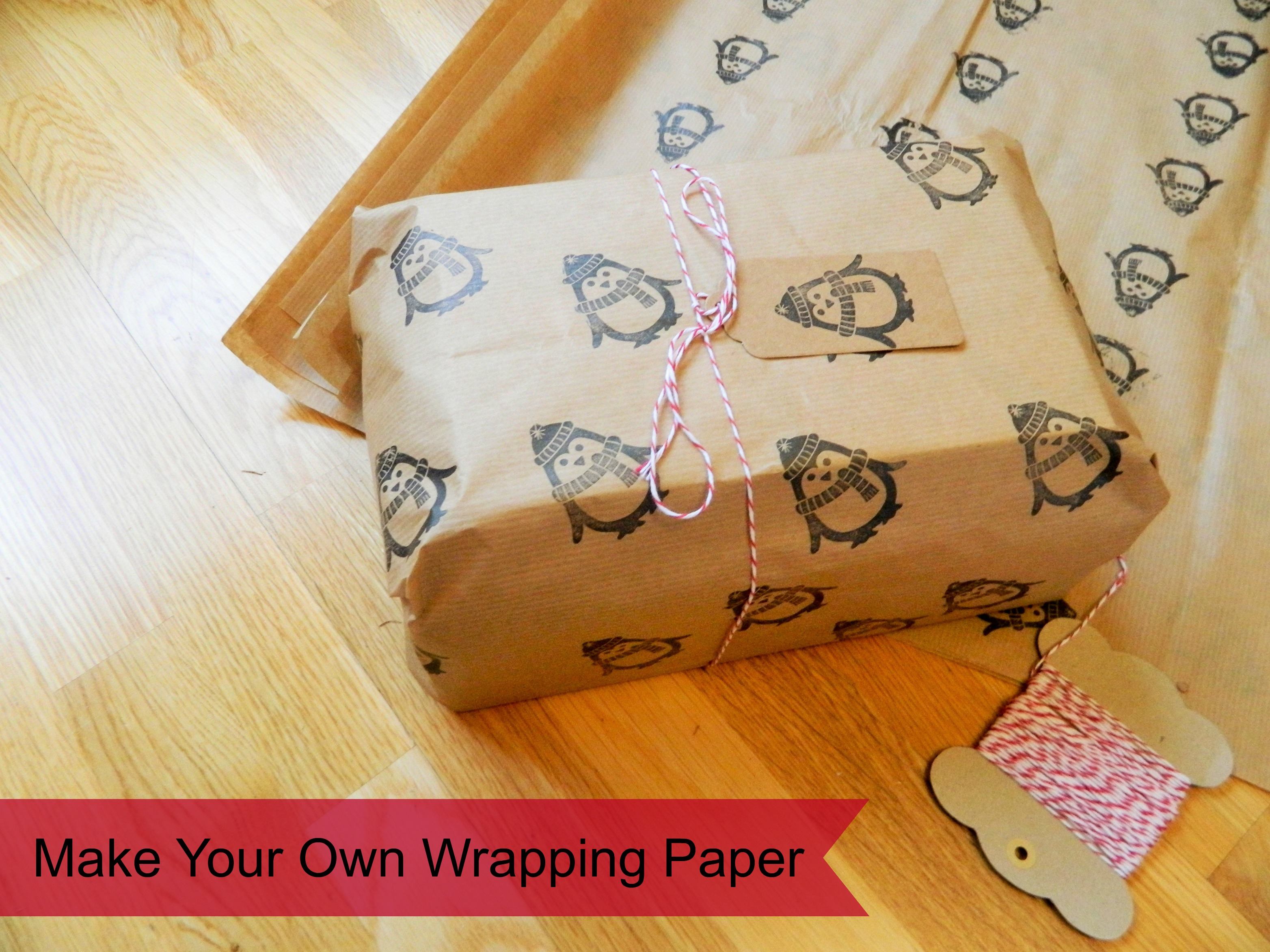 Make your own wrapping paper Make Your Own Wrapping Paper