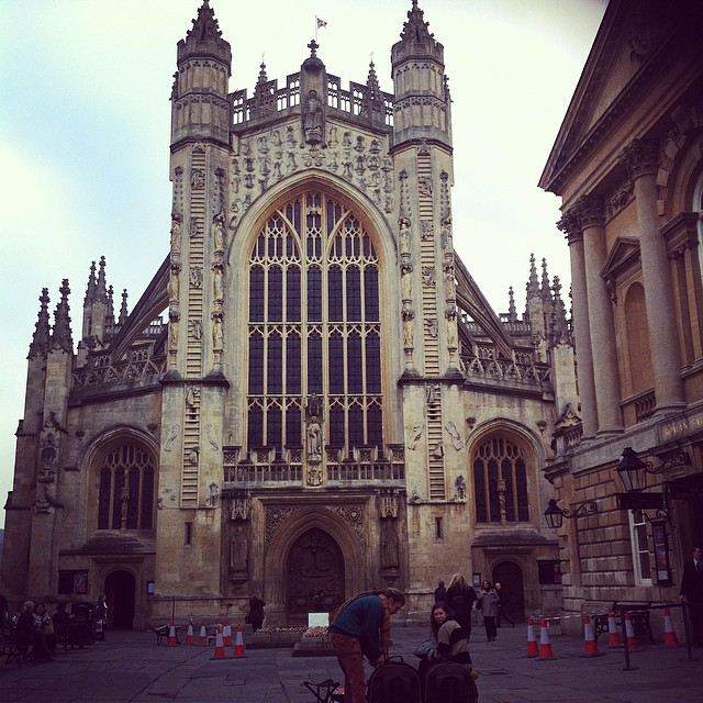 bath abbey Happy Christmas