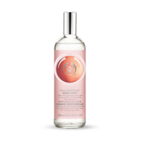 Body Shop Pink Grapefruit Body Mist