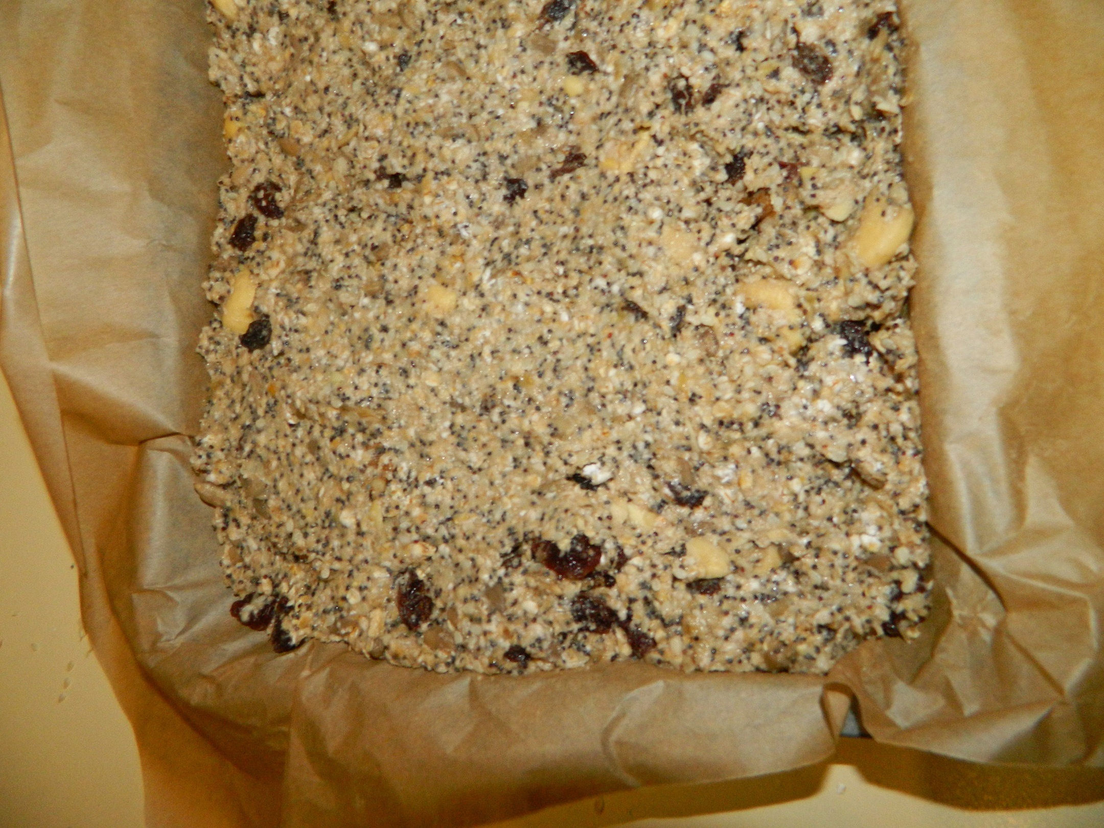 Healthy nut and seed bars