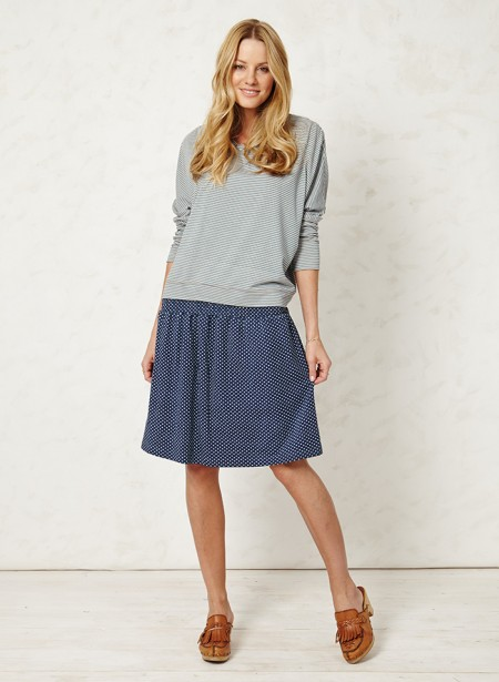 Rhona Rae Spotted Skirt Braintree Clothing for a Thoughtful Spring
