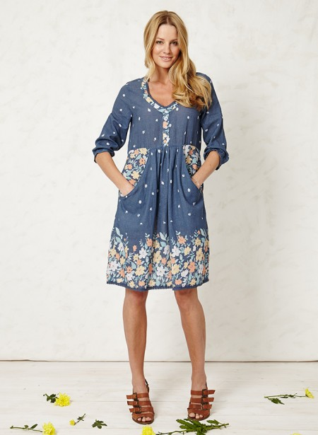 rosa brook floral dress Braintree Clothing for a Thoughtful Spring