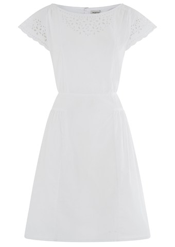 Becca Broiderie dress