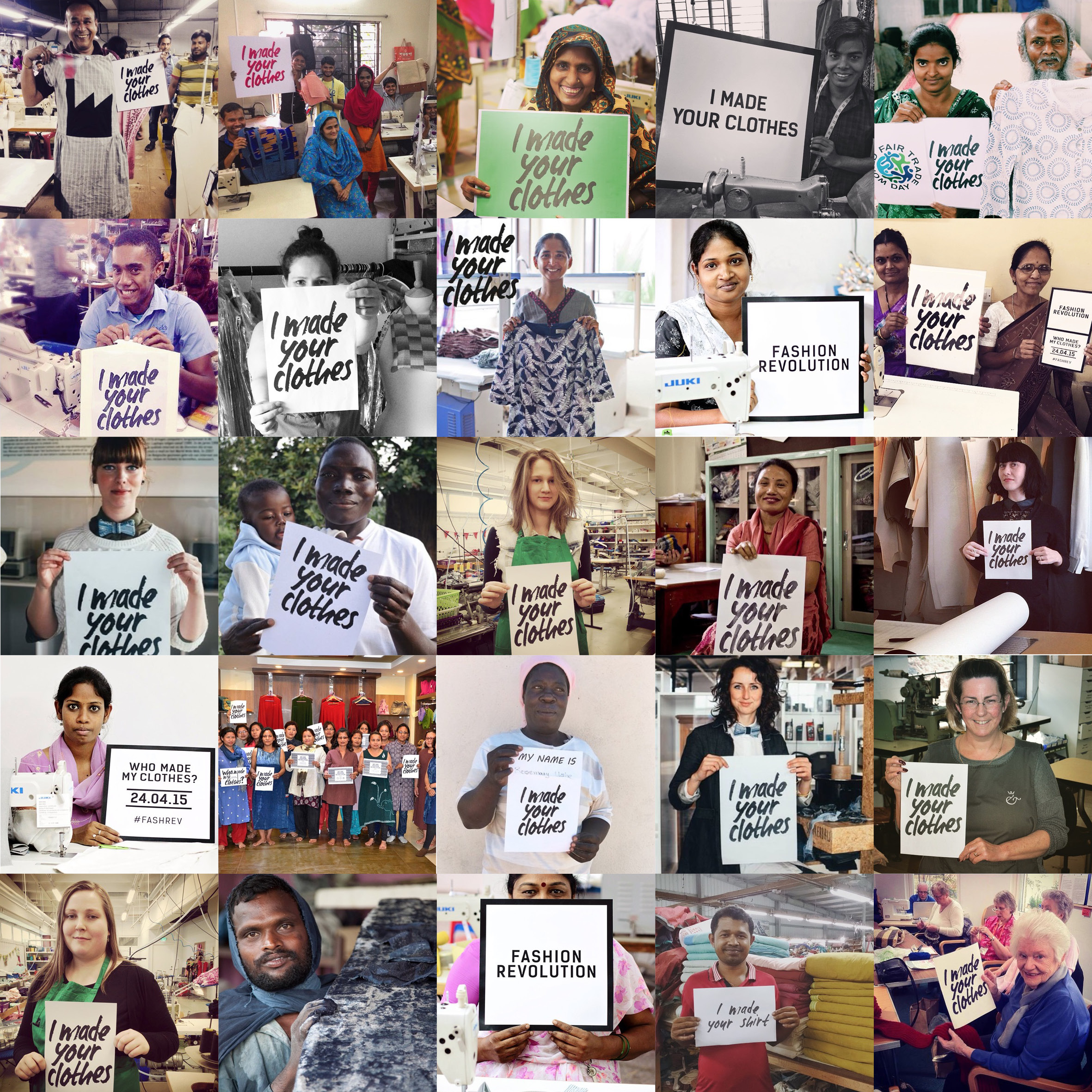FRD impact makers square Marks and Spencers #WhoMadeMyClothes?