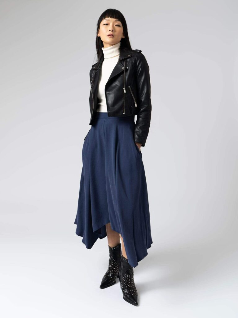 Noho skirt medieval blue