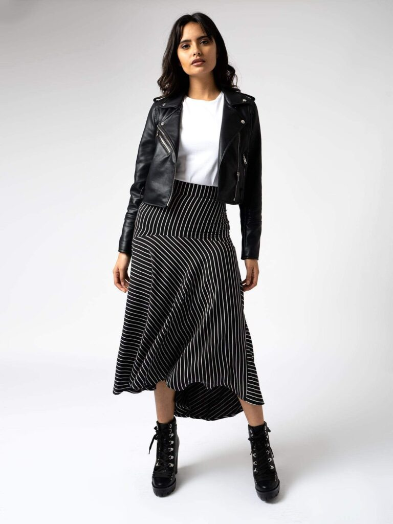 saint + sofia south bank skirt